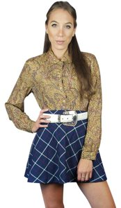 Anna And Frank Vintage 80s Shirt Long Sleeve Paisley Button Down Shirt