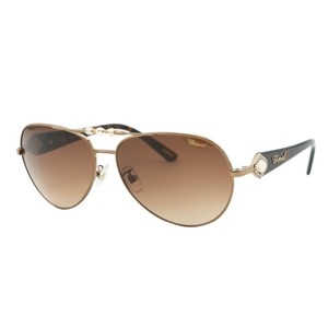 Chopard Chopard SCH 997S R80 Women Brown & Bronze Swarovski Aviator Sunglasses