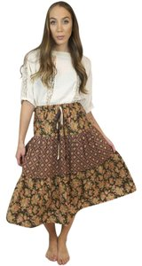 Other High Waisted Maxi Floral Vintage Skirt