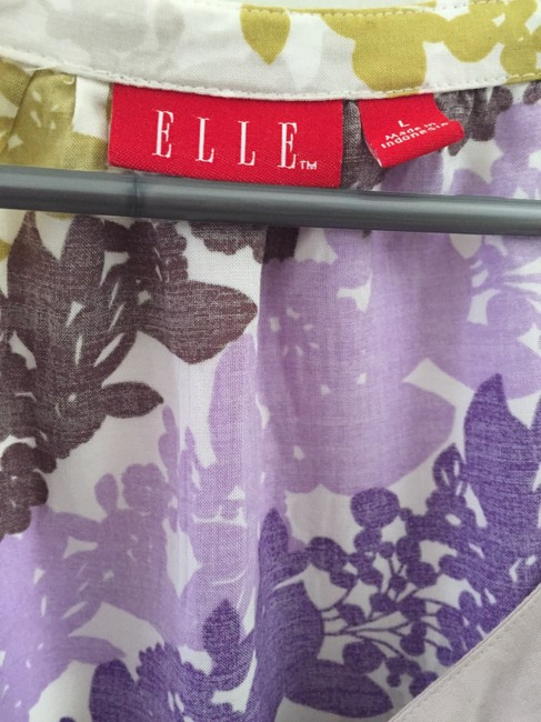 Elle Top Printed