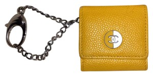 Chanel Picture Frame Key Chain Key Ring Cc Logo Wallet Shoulder Bag