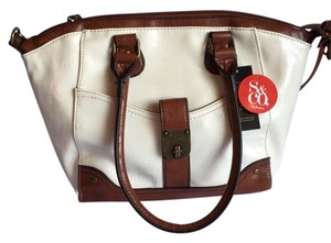 Style & Co Satchel in Claw / Whiskey