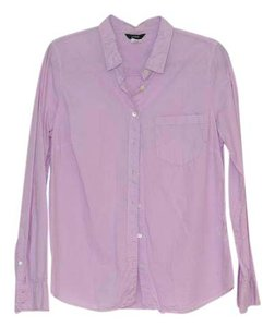 J.Crew Button Down Shirt Hibiscus