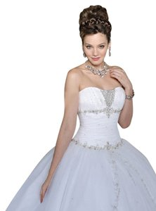 Mori Lee Sequin Sparkle Party Strapless Crystal Dress
