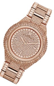 Michael Kors NEW IN BOX Michael Kors Rose Gold-Tone Glitz Camille Lady Watch MK5862