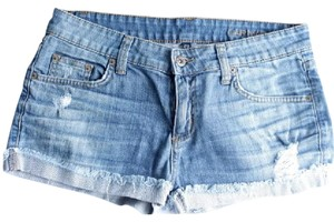 Carmar Cut Off Shorts Blue