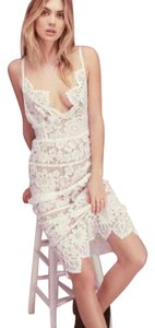 For Love & Lemons Bachelorette Bridal Lace Midi Gianna Dress