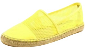 Sam Edelman Lemon Yellow Flats