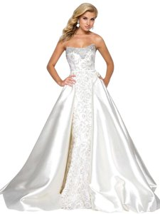 Ivory/Champagne/Silver 62662 Dress