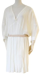 Maje short dress cream on Tradesy