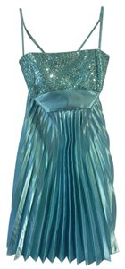 Jessica McClintock Sparkle Formal Prom Short A-line Dress