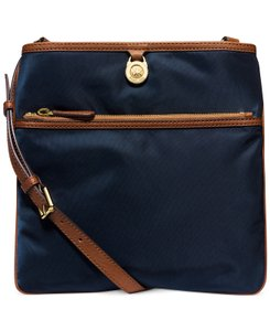 Michael Kors Messenger Crossbody Kempton Navy Blue Messenger Bag