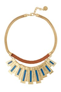 Vince Camuto Vince Camuto Moroccan Drama Necklace Gold