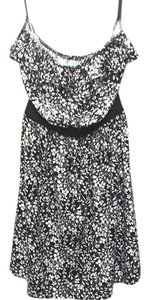 Urban Outfitters short dress Black and White on Tradesy