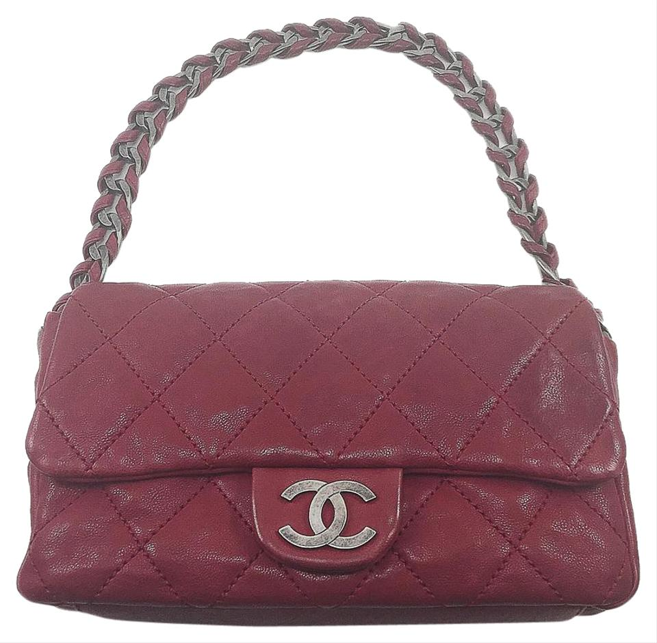 Chanel Red Quilted Leather Shoulder Bag - Tradesy : chanel red quilted bag - Adamdwight.com