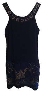 Free People short dress Black Little Short Mini on Tradesy