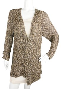 Tory Burch Cotton Knit Mesh Cardigan
