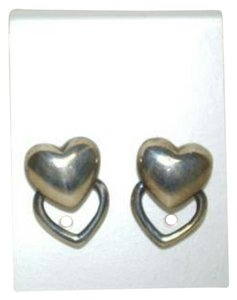 Tiffany & Co. Tiffany & Co Heart Earrings in 925 Sterling Silver