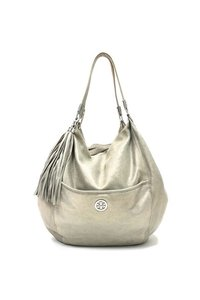 Tory Burch Metallic Hobo Bag