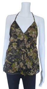 Billabong Camouflage Floral Top Green