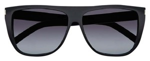 Saint Laurent SL 1 SUNGLASSES IN BLACK ACETATE WITH GREY GRADIENT LENSES