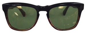 Dita Eyewear New DITA Guidad 19013-B-T-BLK-TRT-52 Plastic Style with Flash Mirror Green lens Sunglasses-147mm