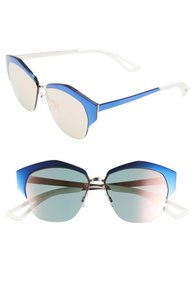 fed1502237f6 Blue Dior Sunglasses - Up to 70% off at Tradesy
