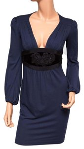 Ingwa Melero 11 Jd Nwt Navy Long Sleeve Sexy Dress