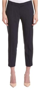 Anne Klein Capri/Cropped Pants navy blue