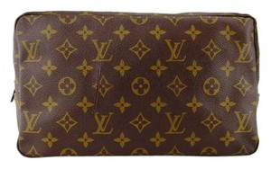 Louis Vuitton Trousse Toilette 28 Monogram Cosmetics Travel Makeup Bag