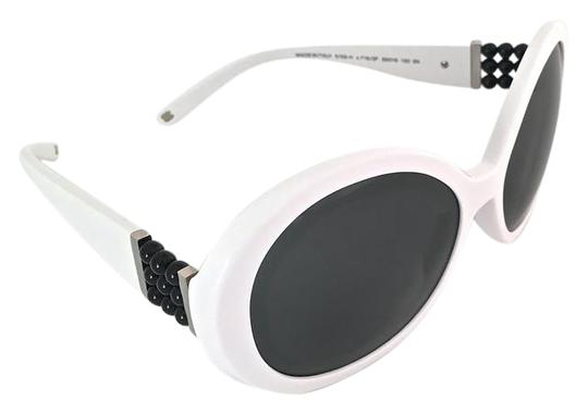 9cb2b859822 Chanel White Circle Sunglasses