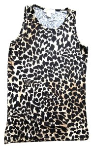 Michael Kors Sleeveless Top Leopard print