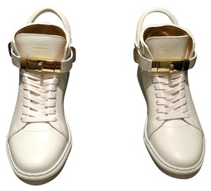 Buscemi White/Gold Athletic