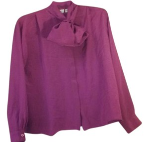 Dior New York Paris Vintage Top Fuchsia