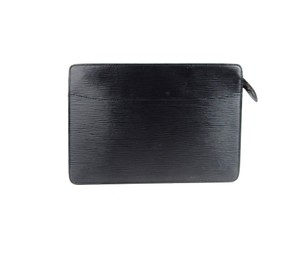 Louis Vuitton Homme Pochette Black Clutch