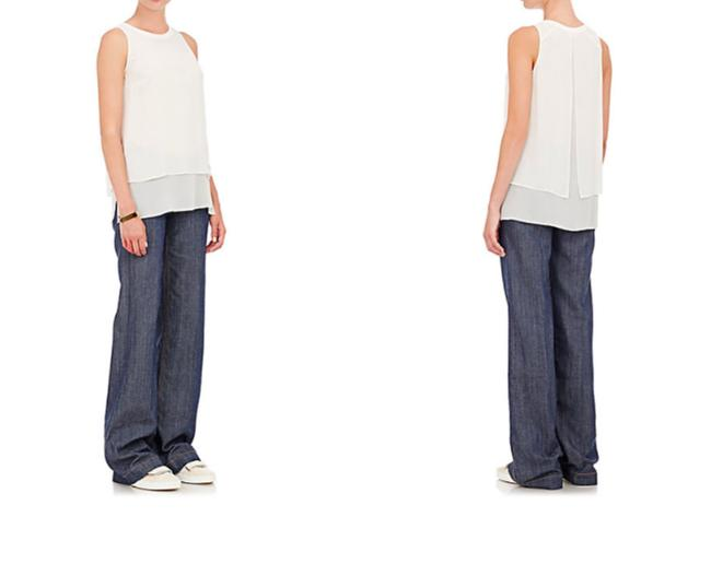 Rag & Bone Loose Trouser/Wide Leg Jeans-Light Wash