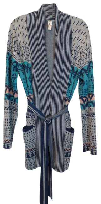 Preload https://item2.tradesy.com/images/anthropologie-blue-grey-aqua-pink-konrad-joseph-deep-shawl-collar-cardigan-sweater-size-16-xl-plus-0-20617356-0-1.jpg?width=400&height=650