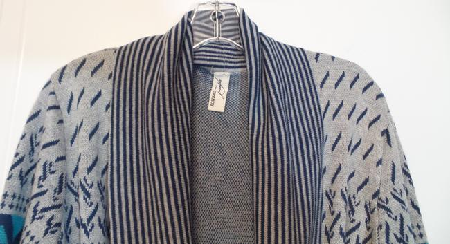 Anthropologie Konrad Joseph Cardigan Blue, grey, aqua, pink Jacket
