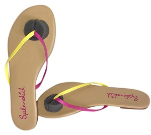 Splendid Pink/Yellow Sandals