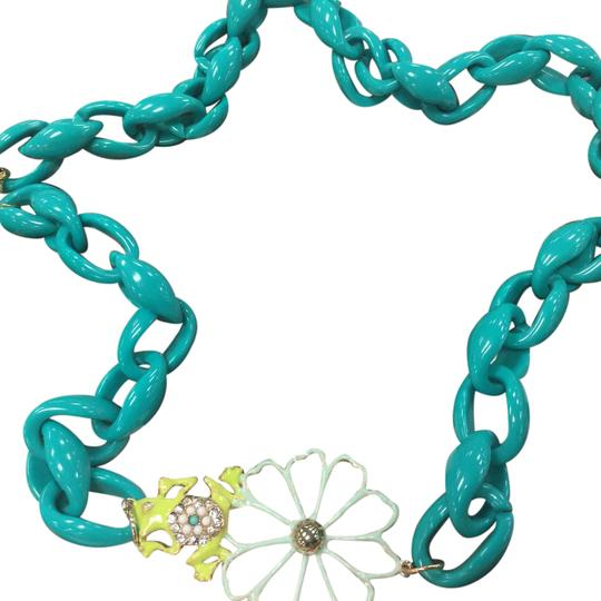 Preload https://img-static.tradesy.com/item/20617428/three-shades-of-green-and-gold-tones-necklace-0-1-540-540.jpg
