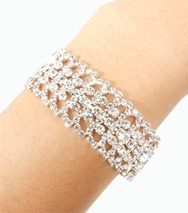 Other Crystal Silver Bracelet