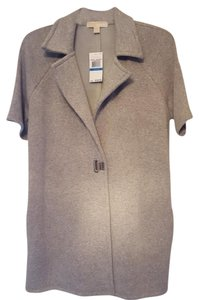 Michael Kors Gray with Silver Logo Clasp Jacket