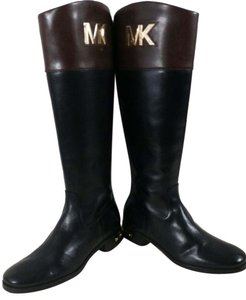 Michael Kors Black/Brown Boots