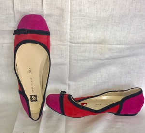 Anne Klein Red/Pink Flats