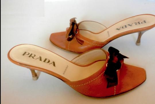 Prada Saddle Mules