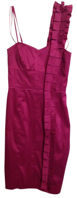 Preload https://item1.tradesy.com/images/jessica-simpson-magenta-sleeveless-over-one-shoulder-mid-length-cocktail-dress-size-4-s-20617540-0-1.jpg?width=400&height=650