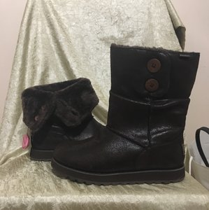 Skechers chocolate brown Boots