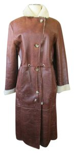 Other Lambskin Light Fur Long Winter Fur Coat