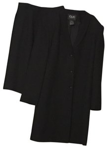 Clio II CLIO 2 Black Jacket Coat Shirt Suit Size 16