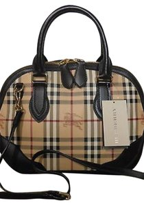 Burberry Satchel Leather Cross Body Bag
